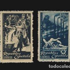Sellos: 773/74** OBREROS DE SAGUNTO. BC. Lote 194582835