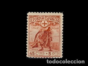 767* CRUZ ROJA. CN (Sellos - España - II República de 1.931 a 1.939 - Nuevos)