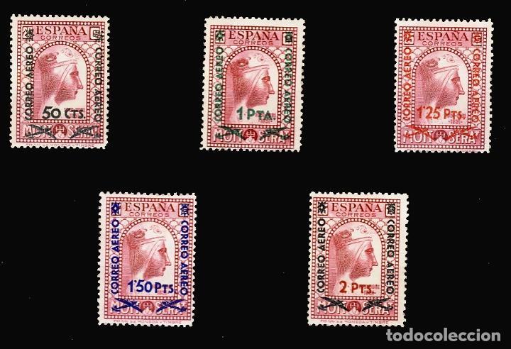782/86* MONTSERRAT NUEVO VALOR. BC. (Sellos - España - II República de 1.931 a 1.939 - Nuevos)
