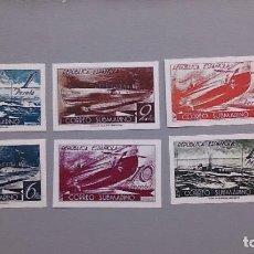 Sellos: ESPAÑA - 1938 - II REPUBLICA - EDIFIL 775/780S -F - SERIE COMPLETA - MNG - NUEVOS CORREO SUBMARINO. Lote 194731896