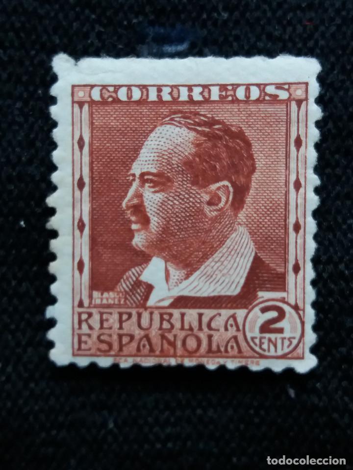 SELLOS, REP. ESPAÑOLA, 2 CENTS, BLASCO IBAÑEZ, 1938, SIN USAR, (Sellos - España - II República de 1.931 a 1.939 - Nuevos)