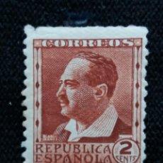 Sellos: SELLOS, REP. ESPAÑOLA, 2 CENTS, BLASCO IBAÑEZ, 1938, SIN USAR,. Lote 194961710