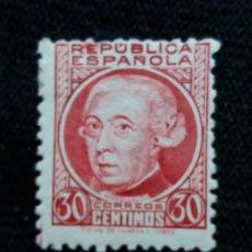 Sellos: SELLOS, REP. ESPAÑOLA, 30 CTS, JOVELLANOS, 1933, SIN USAR,. Lote 194963293