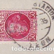 Sellos: ESPAÑA.- SELLO Nº 687 MATASELLO ESTACION LEON. . Lote 195019951