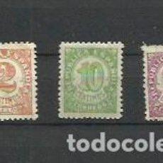 Sellos: REPUBLICA ESPAÑOLA, 2, 10 Y 25 CÉNTIMOS - UNO USADO. Lote 195156467