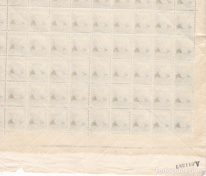 Sellos: GG21- TANGER Edifil 93 Hoja Completa 100 Sellos + 420 euros Variedad** Sin Fijasellos - Foto 3 - 195210821