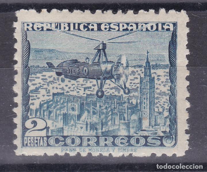 LL6- AUTOGIRO EDIFIL 770A * NUEVO MUY LIGERA SEÑAL DE FIJASELLOS (Sellos - España - II República de 1.931 a 1.939 - Nuevos)