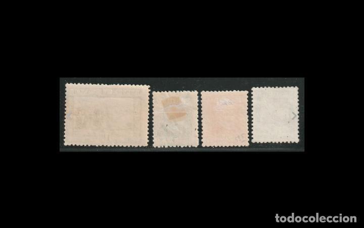 Sellos: ESPAÑA - 1935 - II REPUBLICA - EDIFIL 690/693 - SERIE COMPLETA - MH*/** - NUEVOS. - Foto 2 - 195771318