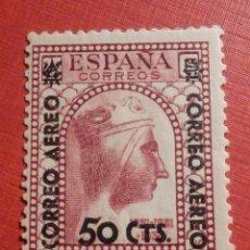Sellos: EDIFIL ESPAÑA Nº 782 - MONSERRAT - HABILITADO AEREO 50 C.S 25 C. - CTS - CON GOMA, SIN FIJASELLOS. Lote 195795245