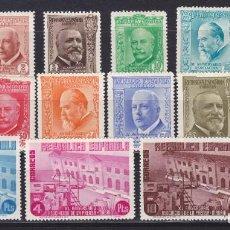 Sellos: D12 EDIFIL Nº 695-710 * SELLOS NUEVOS CON GOMA Y SEÑAL DE FIJASELLOS.. Lote 196337073