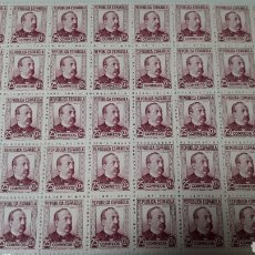 Sellos: 50 SELLOS ESPAÑA AÑO 1933 EDIF. 685 VALOR 85 EUROS. Lote 197767885