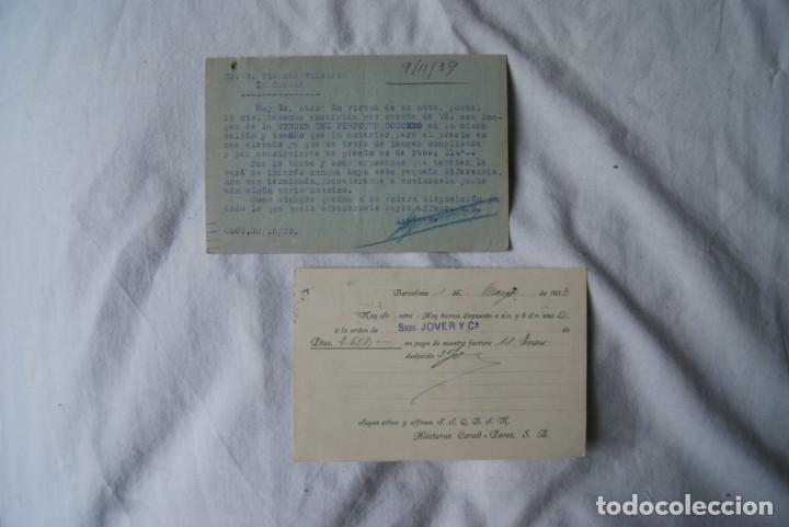 Sellos: LOTE DE 4 TARJETAS POSTALES REPUBLICA Y GUERRA CIVIL PUBLICITARIAS S33 - Foto 3 - 198023886