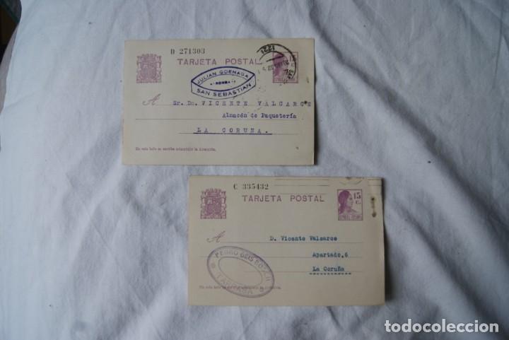Sellos: LOTE DE 4 TARJETAS POSTALES REPUBLICA Y GUERRA CIVIL PUBLICITARIAS S33 - Foto 4 - 198023886