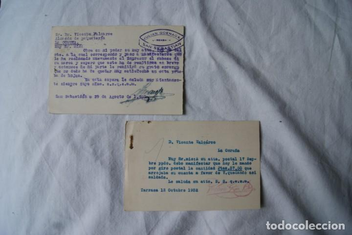 Sellos: LOTE DE 4 TARJETAS POSTALES REPUBLICA Y GUERRA CIVIL PUBLICITARIAS S33 - Foto 5 - 198023886