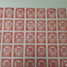 Timbres: 50 SELLOS ESPAÑA AÑO 1938 NUVOS VAOR 20 EUROS. Lote 198247490