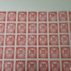 Timbres: 50 SELLOS ESPAÑA AÑO 1938 NUEVOS VALOR 20 EUROS. Lote 198248338