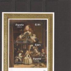 Sellos: SELLOS DE ESPAÑA AÑO 2009 , PINTURA HOJA BLOQUE NUEVA**. Lote 198731856