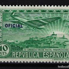 Sellos: 1931 ESPAÑA CONGRESO UNIÓN POSTAL PANAMERICANA - EDIFIL 631 - MH* NUEVO CON FIJASELLOS. Lote 199393551