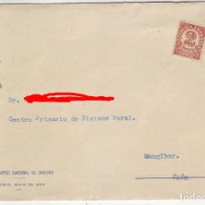 Sellos: 1934 - SOBRE PRIMER CONGRESO NACIONAL DE SANIDAD , SECRETARIA GENERAL DEL CONGRESO. Lote 199728103