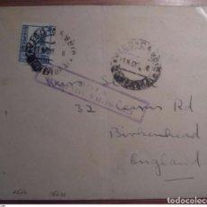 Sellos: ESPAÑA 1938 VIGO CAMBIO CAMBIO GALICIA. Lote 199737778