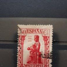 Sellos: EDIFIL 643 USADO MONTSERRAT. ESPAÑA 1931. Lote 200620730