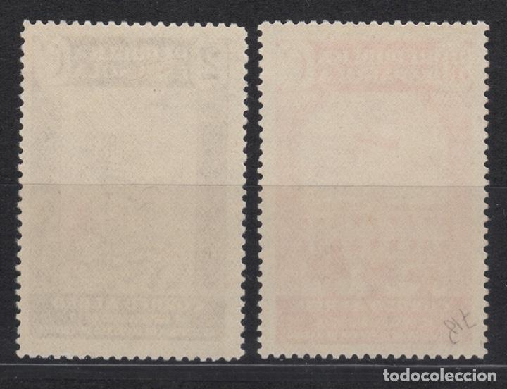 Sellos: 1936 Aniversario Asociacion de Prensa Edifil 712 y 718** - Foto 2 - 201280495