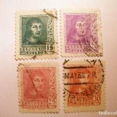 Sellos: ESPAÑA 1938 - FERNANDO EL CATÓLICO - EDIFIL 841-844 - 4 VALORES.. Lote 201825216