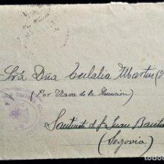Sellos: CARTA SOBRE MADRID 1932 FRANQUICIA CARTERÍA DEL CORREO CENTRAL SECRETARÍA. Lote 202872906