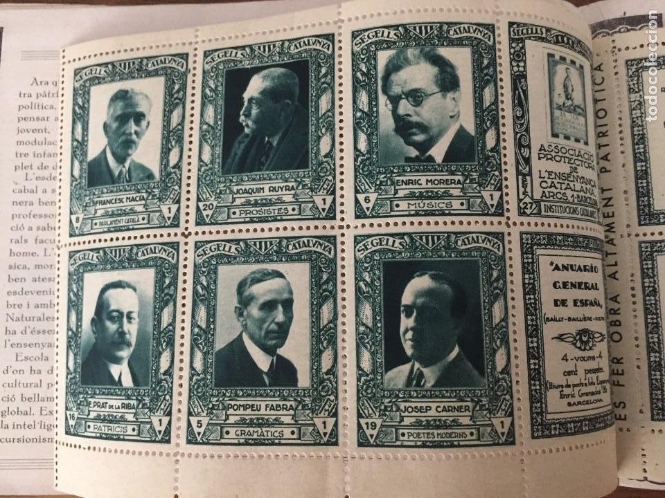 Sellos: CARNET SEGELLS CATALUNYA nº 1 (Abril, 1933) - CONSERVA LOS 16 SELLOS - Foto 5 - 204006396
