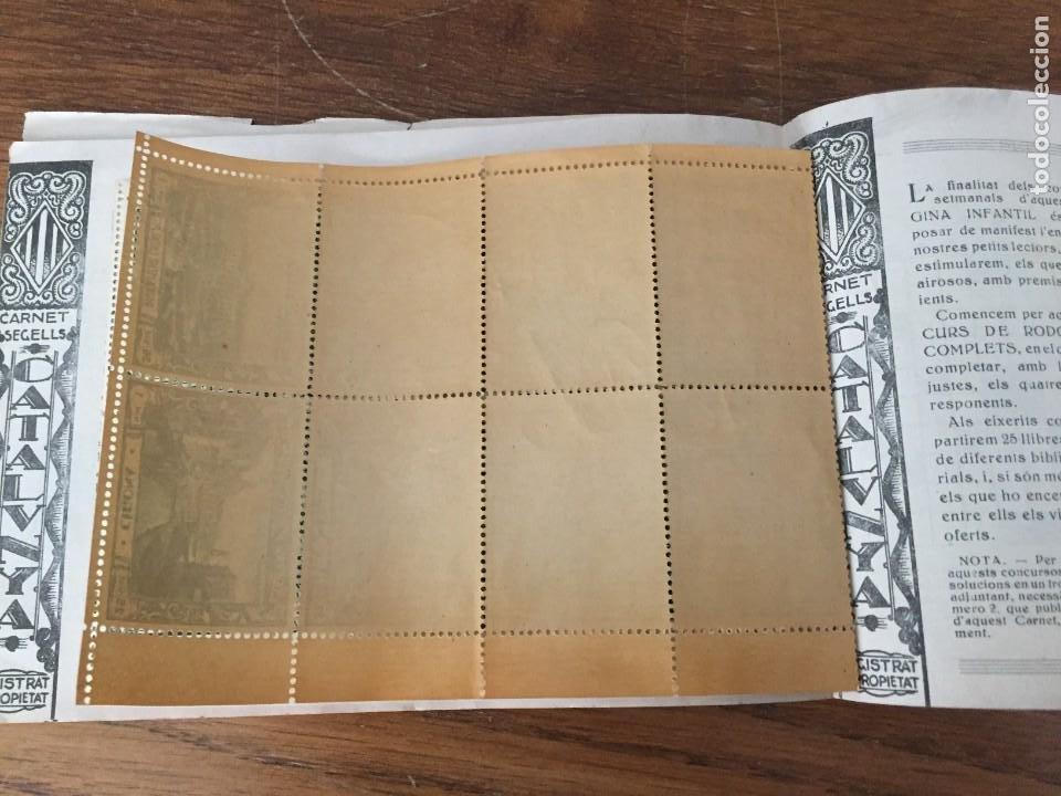 Sellos: CARNET SEGELLS CATALUNYA nº 1 (Abril, 1933) - CONSERVA LOS 16 SELLOS - Foto 7 - 204006396