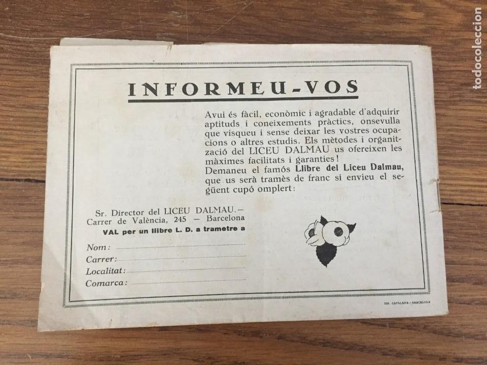 Sellos: CARNET SEGELLS CATALUNYA nº 1 (Abril, 1933) - CONSERVA LOS 16 SELLOS - Foto 9 - 204006396