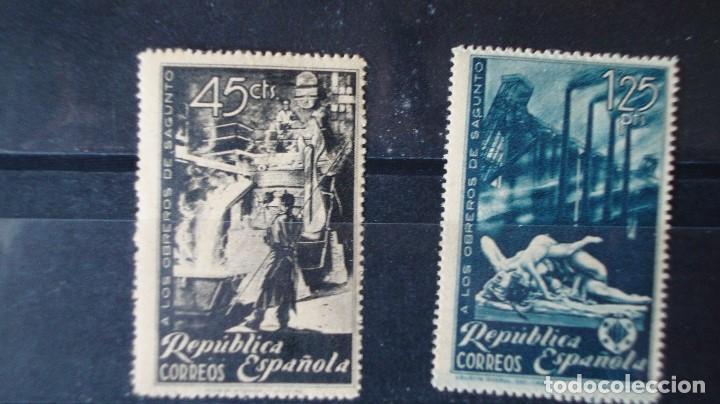 ESPAÑA 2 SERIES EDIFIL 773/74 VER DESCRIPCION FOTOS (Sellos - España - II República de 1.931 a 1.939 - Nuevos)