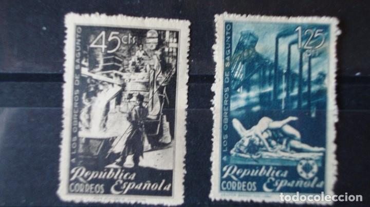 Sellos: ESPAÑA 2 SERIES EDIFIL 773/74 VER DESCRIPCION FOTOS - Foto 2 - 204072570