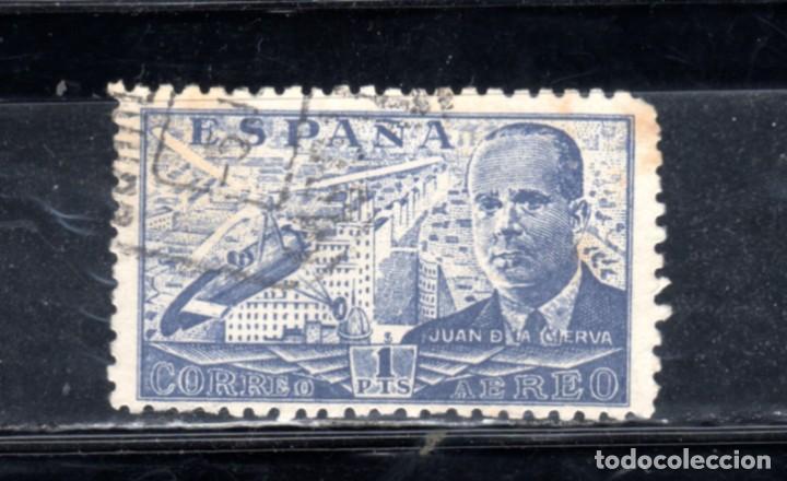 ED Nº 884 JUAN DE LA CIERVA USADO (Sellos - España - II República de 1.931 a 1.939 - Usados)