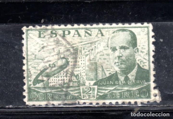 ED Nº 885 JUAN DE LA CIERVA USADO (Sellos - España - II República de 1.931 a 1.939 - Usados)