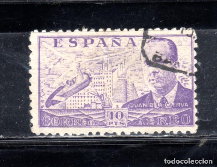 ED Nº 947 JUAN DE LA CIERVA USADO (Sellos - España - II República de 1.931 a 1.939 - Usados)