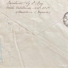 Sellos: CARTA SEGUNDA REPÚBLICA ESPAÑOLA AÑO 1938. Lote 204989991