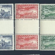 Sellos: A5-9 ESPAÑA III CONGRESO UNION POSTAL PANAMERICANA PAREJA CON INTERPANEL EDIFIL Nº 614 - 618 SIN F. Lote 204999711