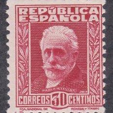 Sellos: ESPAÑA.- SELLO Nº 659 PERSONAJES REPÚBLICA NUEVO SIN CHARNELA (LOS DE LA FOTO). Lote 221660148