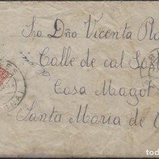 Sellos: 1934 BLANES A SANTA MARIA DE CAMÓS. Lote 205844088