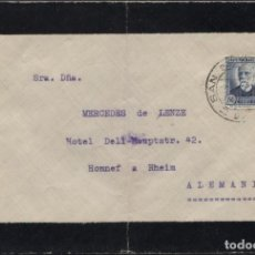 Sellos: 1935 SAN SEBASTIÁN A ALEMANIA. Lote 205844840