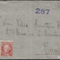 Sellos: 1936 CARTA A CASABLANCA (MARRUECOS). CENSURA. Lote 205845521