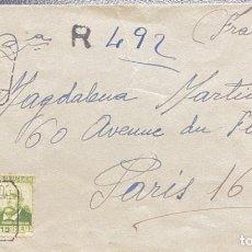 Sellos: SEGUNDA REPÚBLICA ESPAÑOLA CARTA CIRCULADA AÑO 1937. Lote 206070018