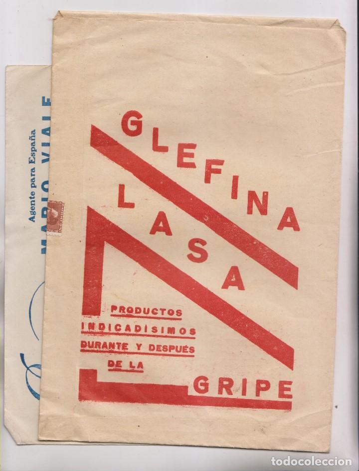 Sellos: LOTE DE 26 SOBRES PUBLICITARIOS. II REPÚBLICA Y ALFONSO XIII - Foto 3 - 206197547