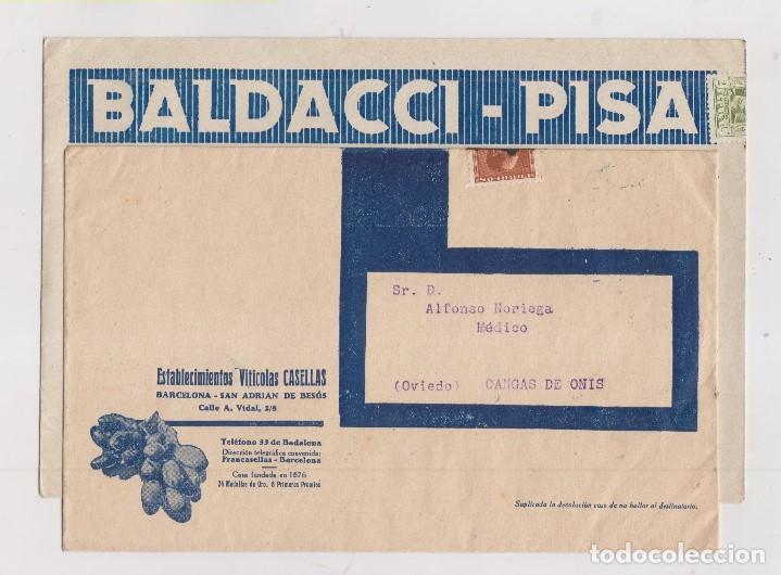 Sellos: LOTE DE 26 SOBRES PUBLICITARIOS. II REPÚBLICA Y ALFONSO XIII - Foto 4 - 206197547