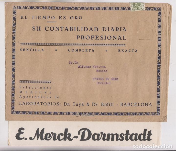 Sellos: LOTE DE 26 SOBRES PUBLICITARIOS. II REPÚBLICA Y ALFONSO XIII - Foto 5 - 206197547