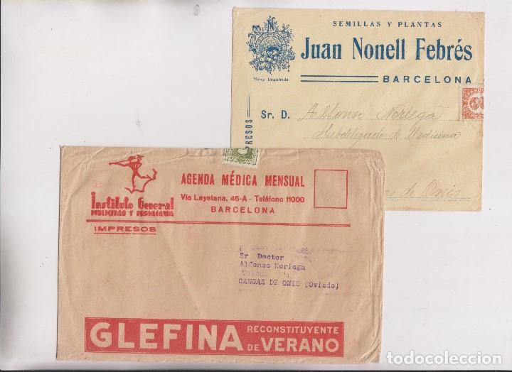 Sellos: LOTE DE 26 SOBRES PUBLICITARIOS. II REPÚBLICA Y ALFONSO XIII - Foto 8 - 206197547