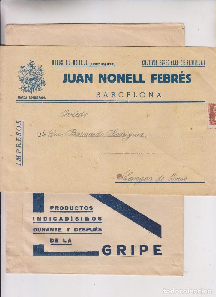 Sellos: LOTE DE 26 SOBRES PUBLICITARIOS. II REPÚBLICA Y ALFONSO XIII - Foto 9 - 206197547