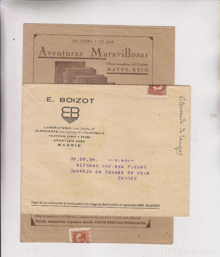 Sellos: LOTE DE 26 SOBRES PUBLICITARIOS. II REPÚBLICA Y ALFONSO XIII - Foto 10 - 206197547