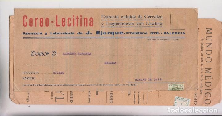 Sellos: LOTE DE 26 SOBRES PUBLICITARIOS. II REPÚBLICA Y ALFONSO XIII - Foto 11 - 206197547